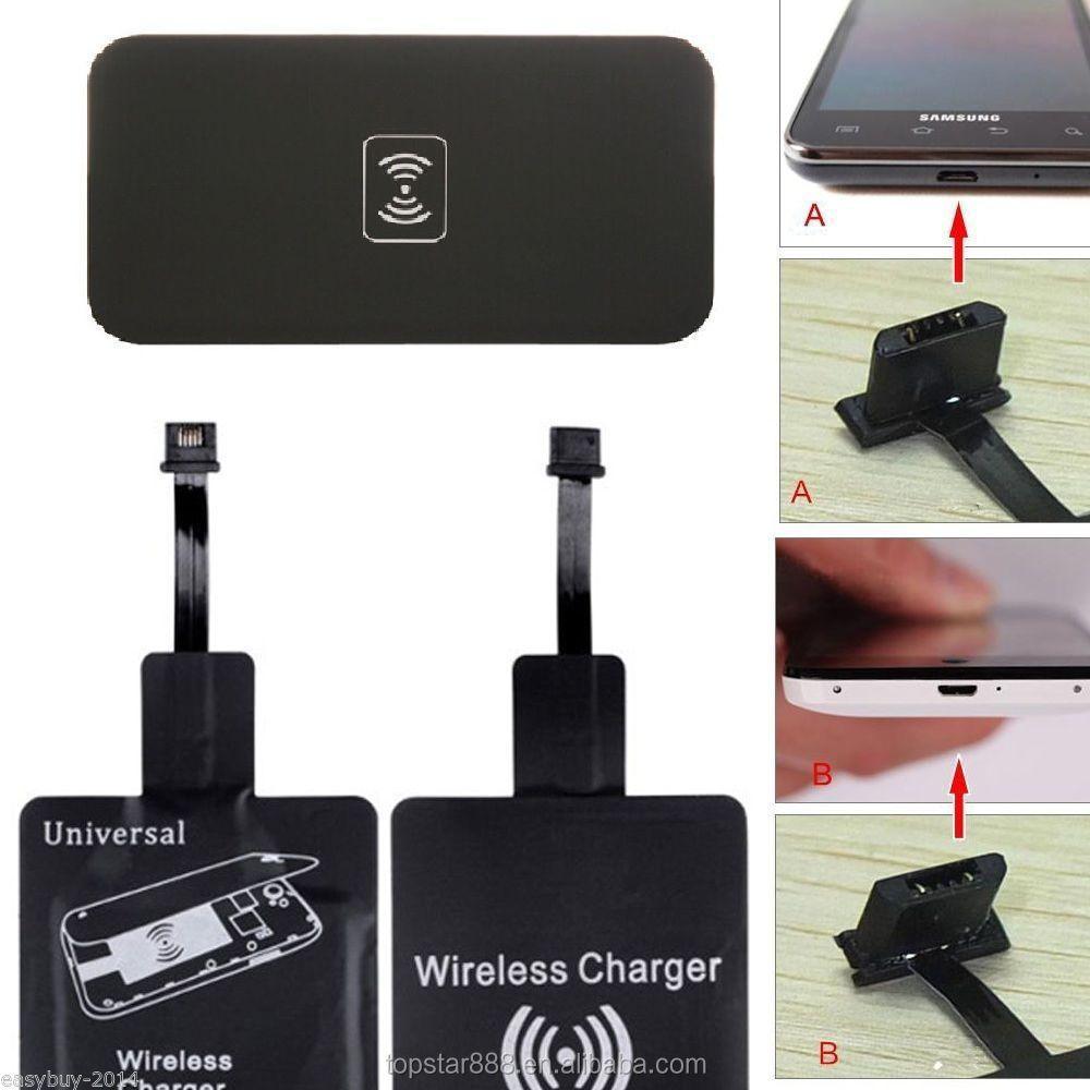 receptor cargador inal mbrico universal qi cargador inal mbrico qi del tel fono m vil para el. Black Bedroom Furniture Sets. Home Design Ideas