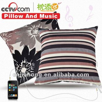 decroative sofa music cushion in optional covers or fabric