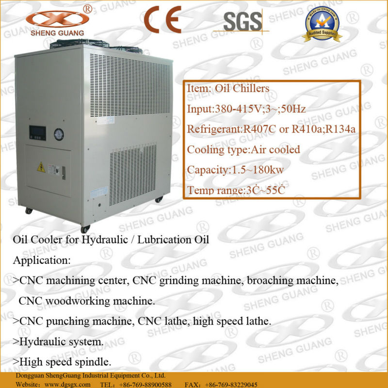 Hot selling machine oil chiller unit Of New Structure