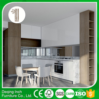 knock down kitchen cabinets/luxury modern kitchen cabinets/particle board kitchen cabinets