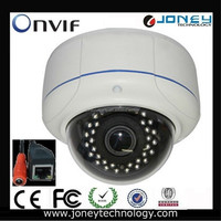 Vandelproof onvif 1080p poe Security IP dome Camera (JYD-V7344IPC-1.0MP)