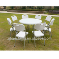 hotsale HDPE plastic picnic banquet folding chairs, outdoor chair furniture