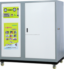 Silent mini type mobile nitrogen flushing machine with high pressure for cylinder refilling