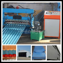 corrugation used metal roof panel roll forming machine| plastic sheet corrugated roofing