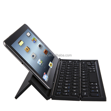 Easiest for Iphone and Ipad Aluminum alloy Wireless Foldable Keyboard with CE/ROHS/FCC