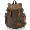 32L Vintage Canvas backpack Mountaineering Men's backpacks rucksack Travel outdoor bags