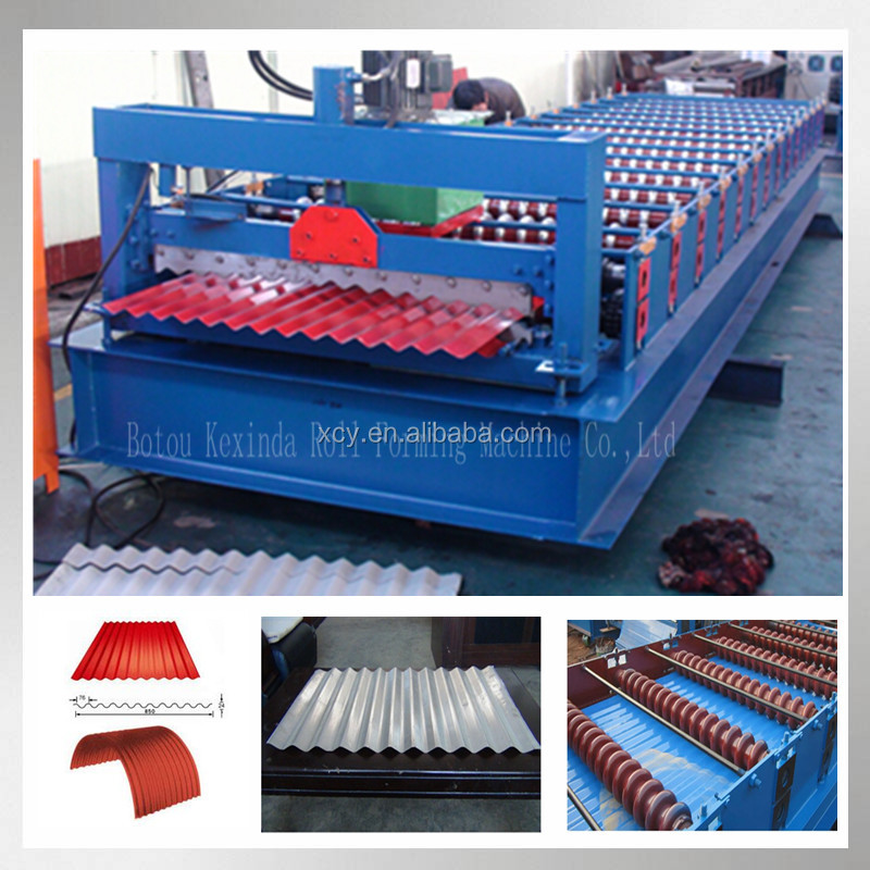 Roofing Sheet Roll Forming Corrugating Iron Sheet Making Machine,Cold Galvanizing Line