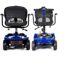 2- 3-4 four Wheel lightweight taizhou scooter md50qt-3