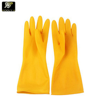 China factory custom waterproof fishing gloves and rubber gloves industrial