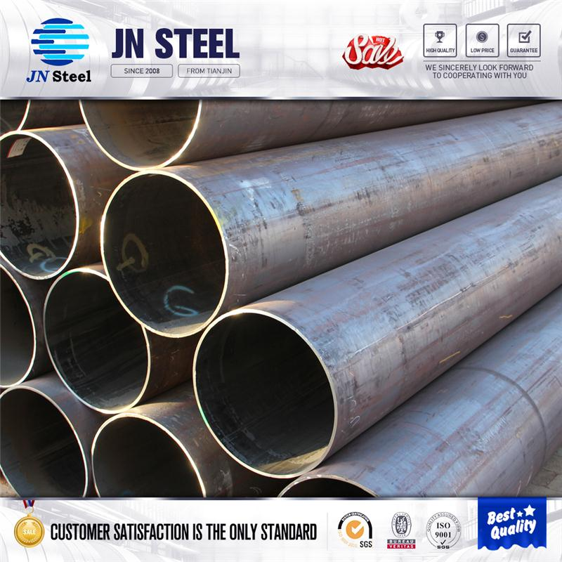 sa 179 carbon steel pipe raw materials for disposable plastic spoon vanish coating pipe