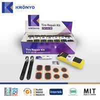 KRONYO tyre sealant kit vulcanizing rubber patch screw driver