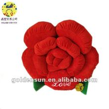 2012 love stuffed flower toy with music