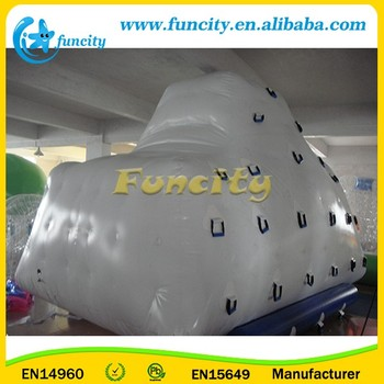 Giant Inflatable Iceberg Climbing Wall for sale