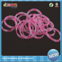 new designs diy silicone loom bands thick rubber band