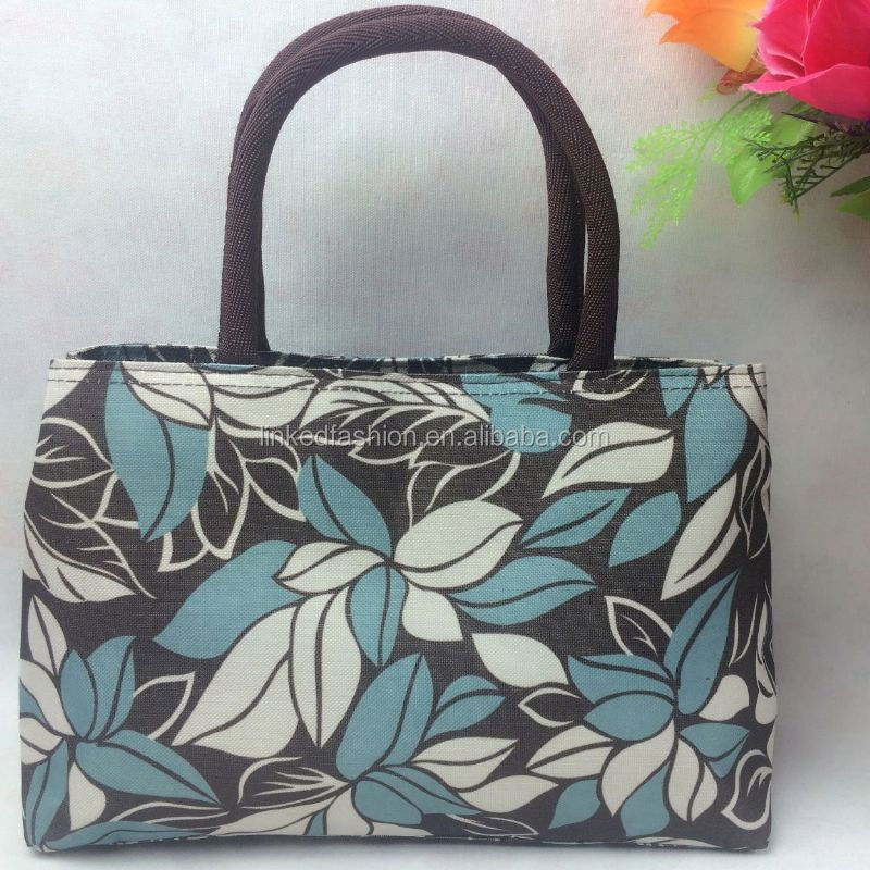 fashion ladies Direct Factory canvas foldable travel bag leather Beach bags