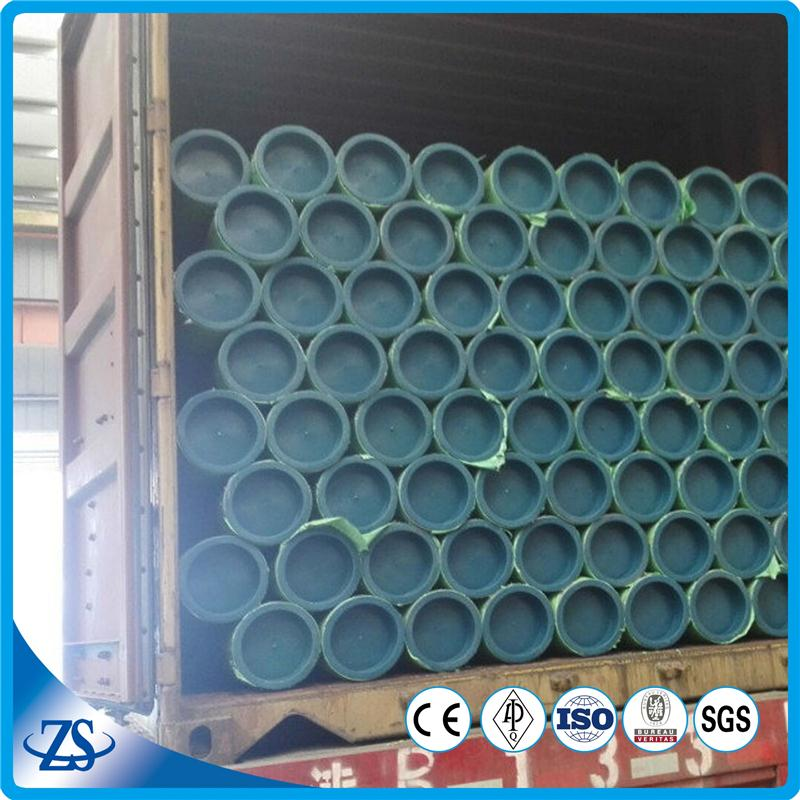 seamless knitting machine carbon steel pipe with print