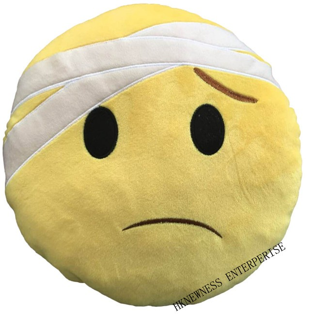 2016 New product pp custom whatsapp emoji pillow cute smiley face cushion pillow
