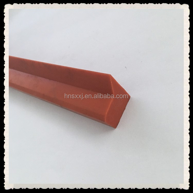 Custom L shape silicone rubber seal strip for mechnical seal