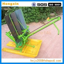 2 rows china manual rice transplanter