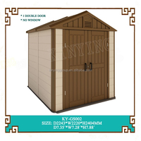2015 new garden tool storage shed