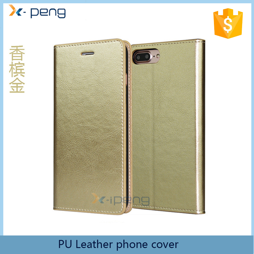 Top selling China folio Leather bookstand mobile phone cover Flip Case For Sony Xperia Acro S LT26W