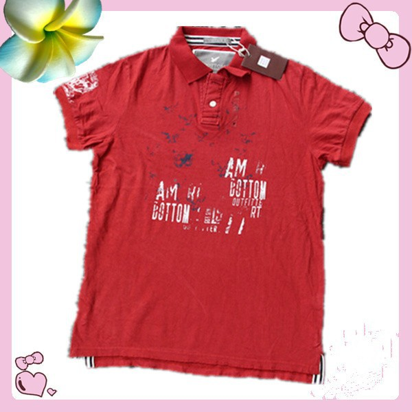 apparel wholesale 2015 summer short sleeve kids polo <strong>shirt</strong> with embroidered pattern