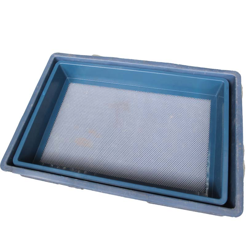 General plastic Meal worm Plastic breeding sieve and turn over case for farm