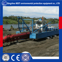 River Pontoon Dredger for Sale with 22'' Pump