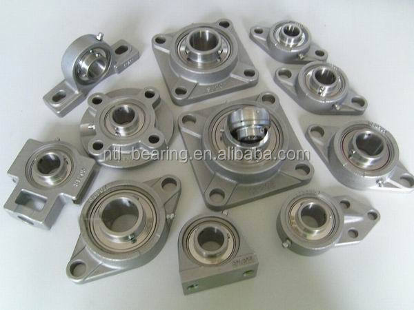 SUCF204 SSUCF204 stainless steel pillow block bearing with open cap
