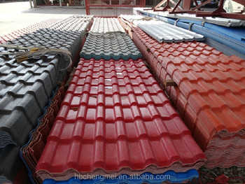 artificial rustless pvc roof tile