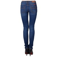 New fashion destory jeans back pockets exquisite embroidery denim pants bodycon skinny jeans with moustache effect hot in USA