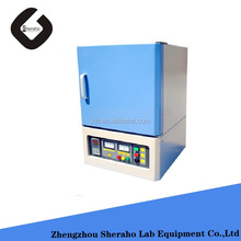CE Approved 1200.C laboratory electric muffle furnace for gravimetric analysis