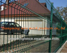 2012 hot sale durable triangular corrugated safety shield fence panel(china supplier)