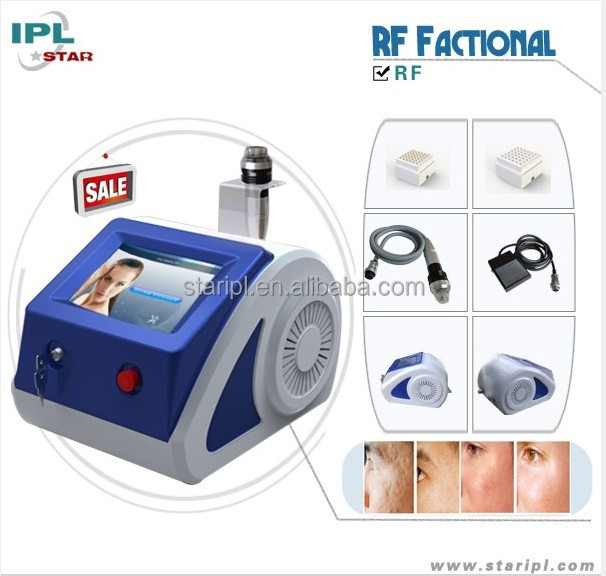 FDA approved portable electric rf anti aging wrinkle pinxel rf anti aging machine