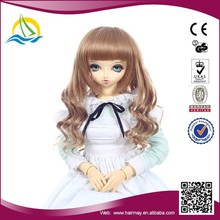High Temperature Fiber Synthetic Kanekalon Doll Wig factories,cheap doll wig for american girl doll