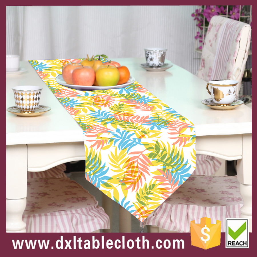 Home decoration pvc dinner table runner