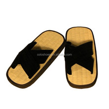 Tatami zori slipper with X style