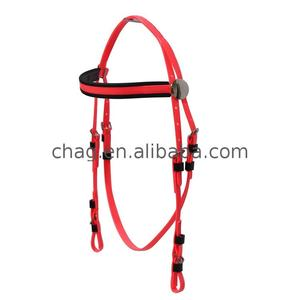 China factory hot sell comfortable horse bridle for racing sales new type bridles pvc