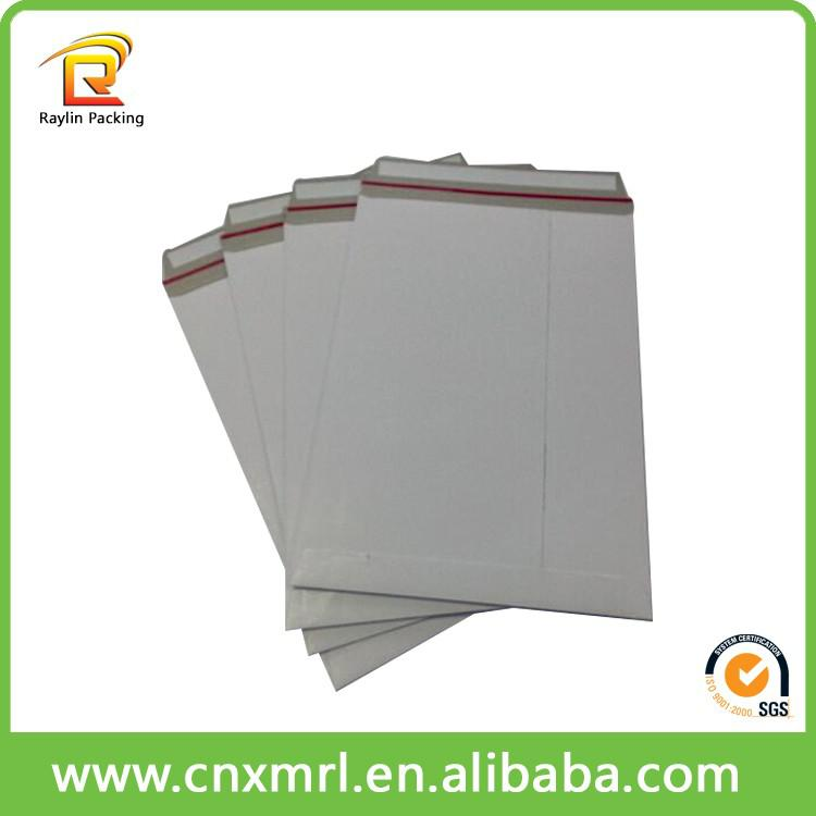 Flat Rigid Card Board CD Mailers