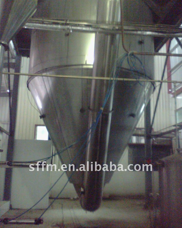 Stearic acid spray dryer