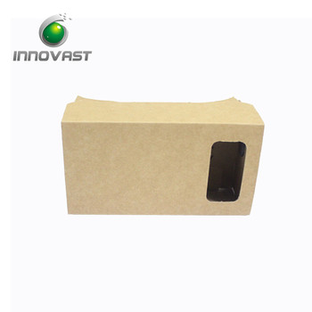 DIY Separate Cardboard GooglePhone V R 3D Box Glasses With Side By Side Video