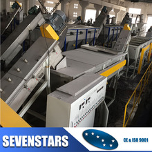 whole sale factory price plastic scrap washing recycling machine line for pp / pe waste material