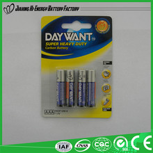 Top Quality Wholesale r03 size AAA 1.5 v battery