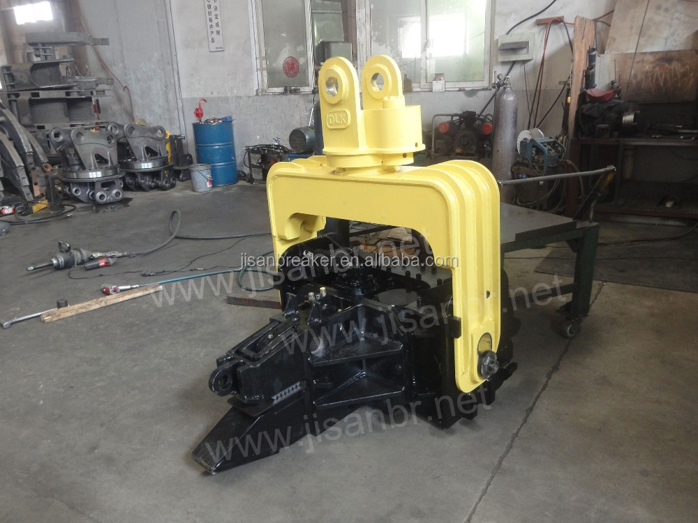 Hot sale high frequency hydraulic pile driver hammer for EC290 excavator