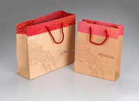Cheap Kraft Brown Paper Bag in High Quality ,Customized Sizes and Designs Are Avaiable