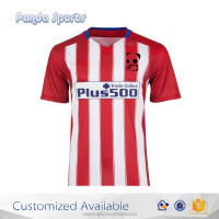 China Custom Wholesale Plain Sublimation Polyester Football Jersey Guangzhou Factory, sportswear
