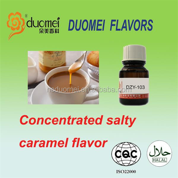 E Concentrated PG/VG Salty Caramel liquid flavor/flavour/essence