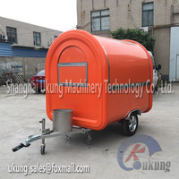 Movable Kiosks New Mobile Fruit Carts For Sale Food Truck Hot Dog Carts Fast Food Cart FT-165