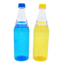 Factory offer no MOQ in stocked colorful drinking water bottle free sample available