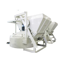 Automatic vertical shaft planetary cement concrete mixer machine